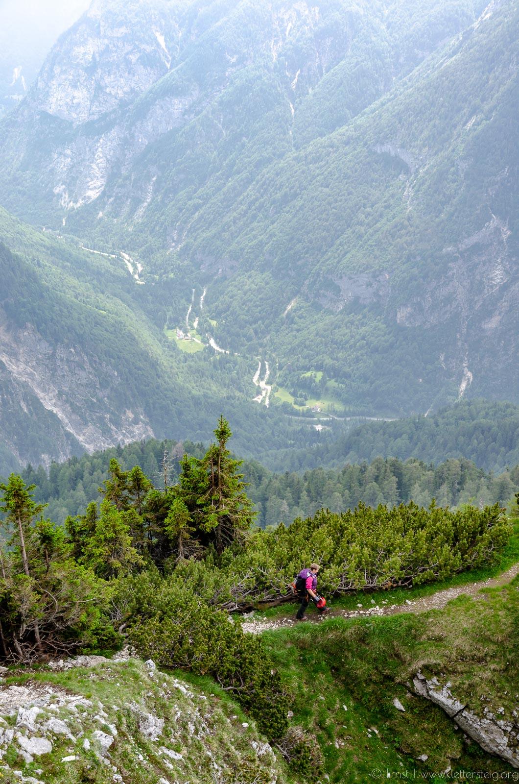 Prisank Klettersteig Juni